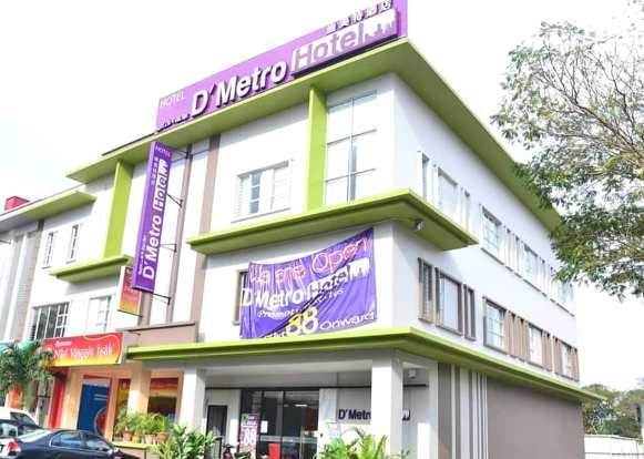 d'metro hotel murah shah alam