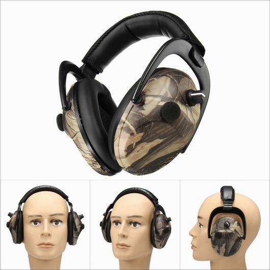 Electronic Earmuff Headphones Shooting Protection Hunting Tactical Headset
