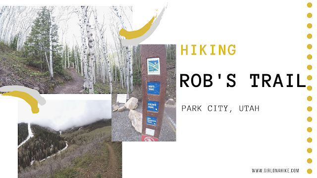 Hiking Rob's Trail, Hiking in Park City, Utah, Hiking in Utah with Dogs