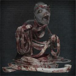 Bloody Messenger Head Bandage