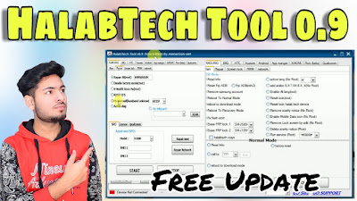 Halabtech Tool V0.9 Samsung Latest Model Supported Free Download