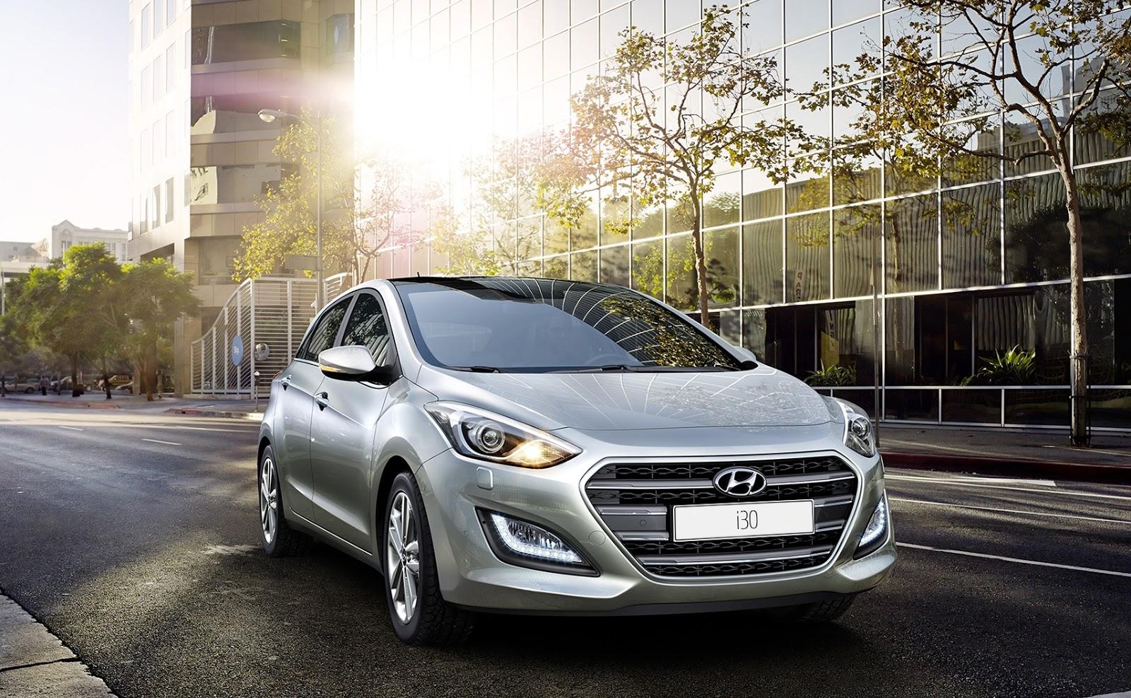new i30 Το νέο Hyundai i30 πιο όμορφο και με επτατάχυτο κιβώτιο διπλού συμπλέκτη Hyundai, Hyundai i30