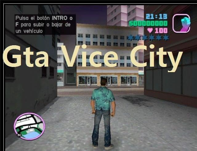 تحميل لعبة GTA Vice City من ميديا فاير