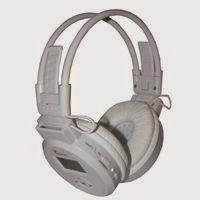 Fone de ouvido sem fio via bluetooth