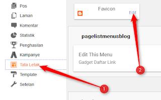 cara memasang favicon  pada blog