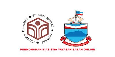 Permohonan Biasiswa Yayasan Sabah 2020 Online (Borang)