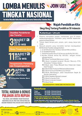 Lomba Menulis Tingkat Nasional Tentang Pendidikan Indonesia