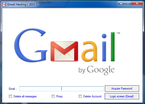 gmail hack password