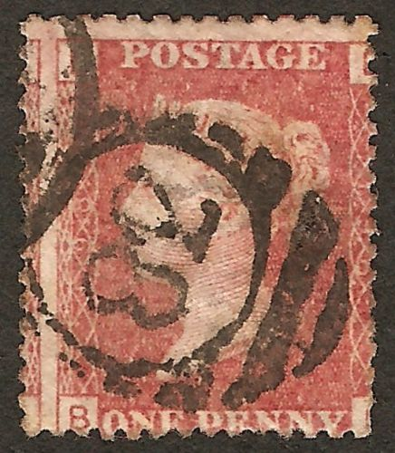 Penny Reds Stamp Shop Rare Postmark On Penny Red Sells For 22 On Ebay