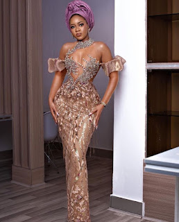 #Lace Gown Styles 2021 for ladies