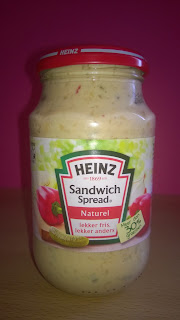 Heinz Sandwich Spread Naturel.