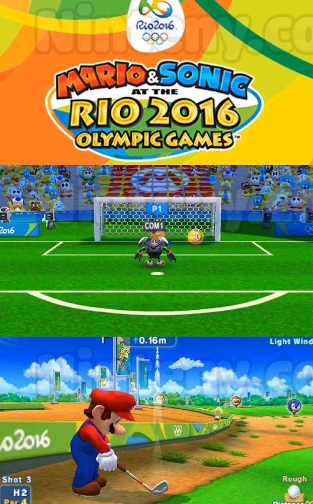 Mario & Sonic at the Rio 2016 Olympic Games 3DS Decrypted