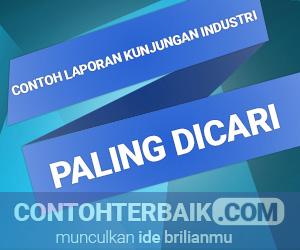 Contoh Laporan Kunjungan Industri