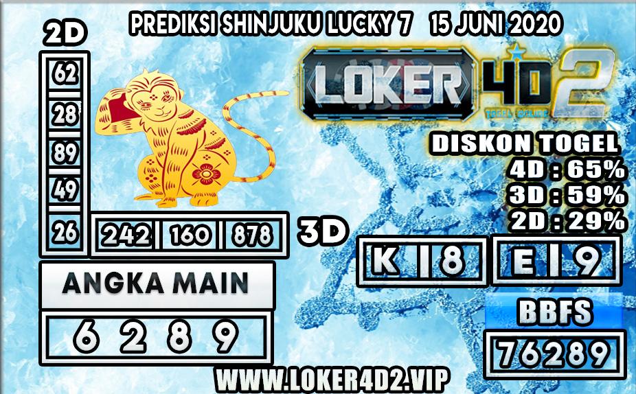 PREDIKSI TOGEL SHINJUKU LUCKY7 LOKER4D2 15 JUNI 2020