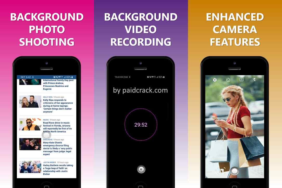 NINJACAM - Background Video Recorder Pro Mod Apk 2.0