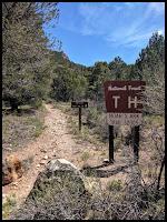 Noah's Ark Trailhead Sign