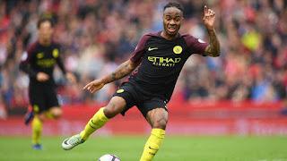 Raheem Sterling, Stoke vs Manchester City, EPL 2016/17