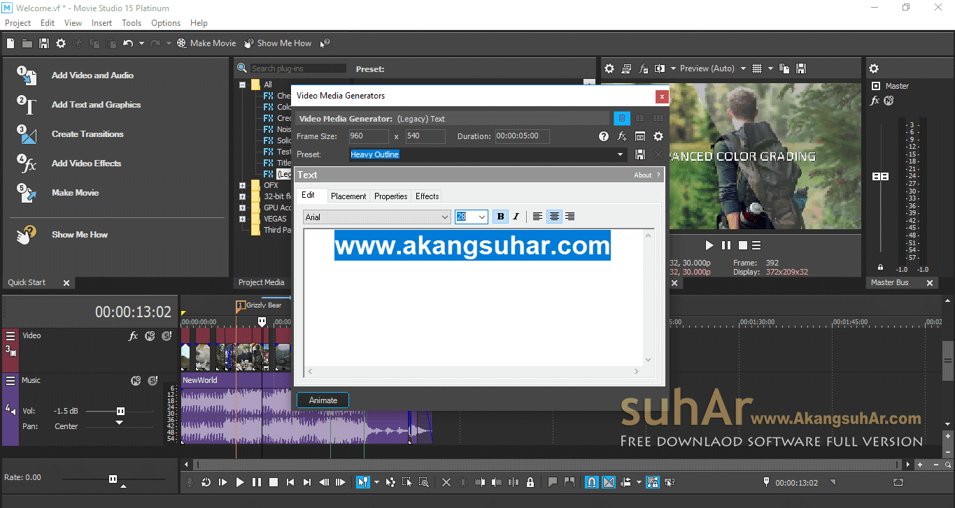 Gratis Download MAGIX VEGAS Movie Studio Platinum Full keygen, MAGIX VEGAS Movie Studio Platinum Full Serial Key, MAGIX VEGAS Movie Studio Platinum Activation Key, MAGIX VEGAS Movie Studio Platinum 2018 Registration Code
