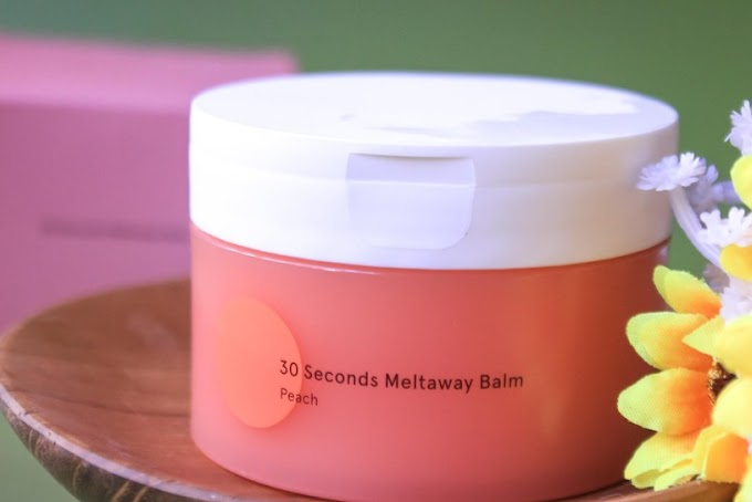 Review Dear Me Beauty 30 Seconds Metlaway Balm • Peach