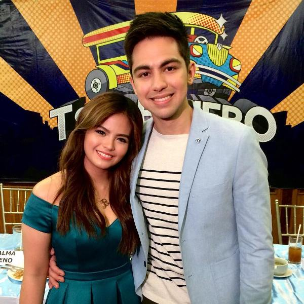 Bea Binene and Derrick Monasterio for Tsuper Hero