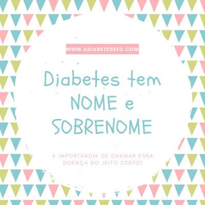 diabetes, tipos, nomenclatura, pacientes, respeito