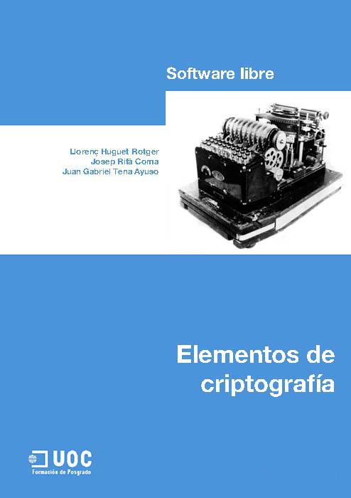 Elementos de criptografía – UOC