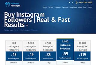 followerpackages - buy instagram followers