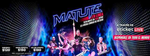 Matute ofrecerá concierto en vivo en línea desde la Arena Ciudad de México