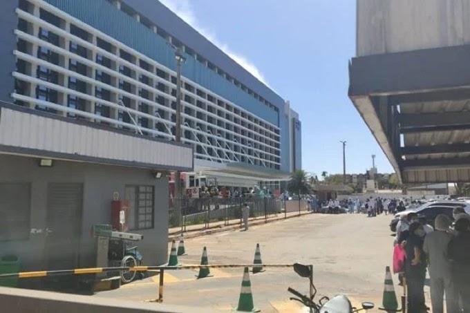 Vídeo. Incêndio atinge Santa Luzia em Brasília e pacientes são evacuados