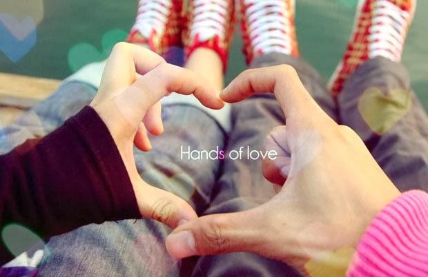 Valentine's Day Hands of Love