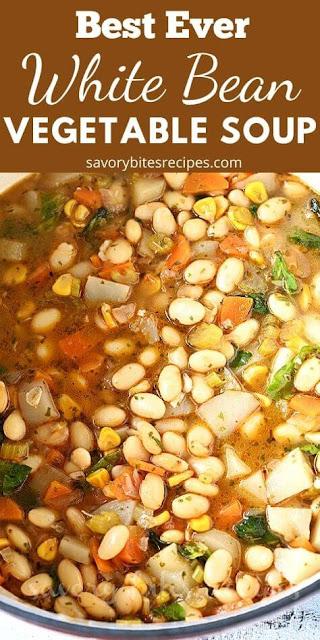 Best Ever white bean vegetable soup