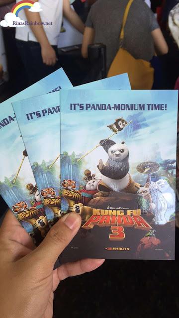 Kung Fu Panda Media Premier