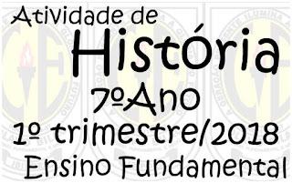 Atividade de história online - www.professorjunioronline.com