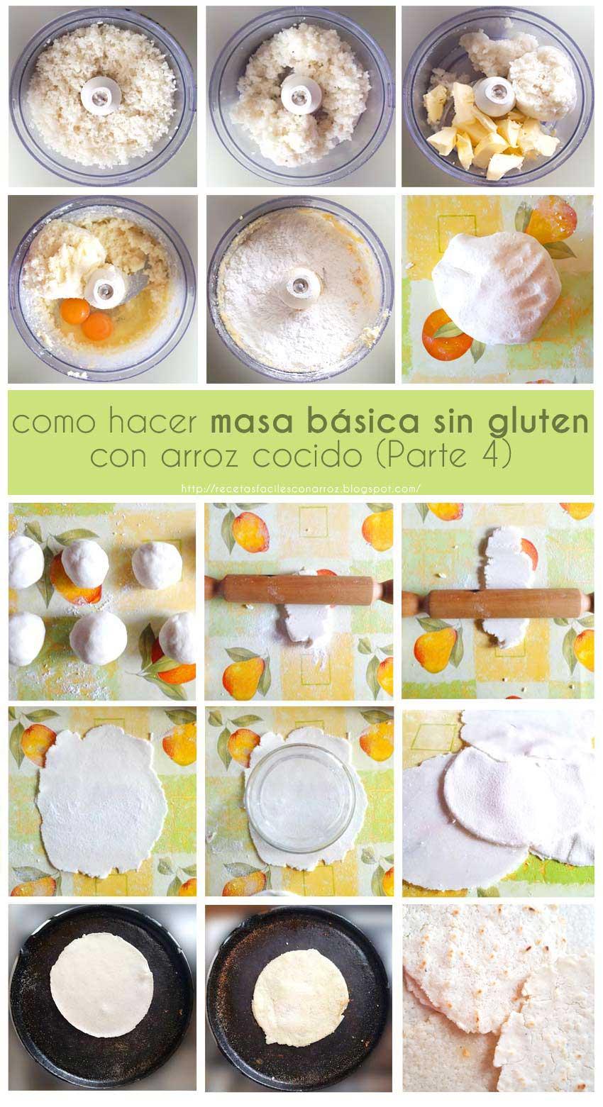 masa basica sin gluten fototutorial 4