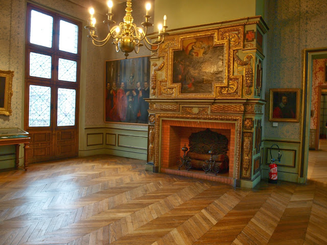 image result for fireplace Musee Carnavalet photo by Michele of Hello Lovely