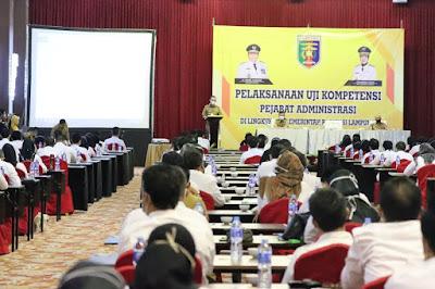 Gubernur Lampung Buka Uji Kompetensi Pejabat Administrasi Di Lingkungan Pemerintah Provinsi Lampung