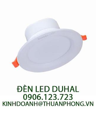 Báo giá đèn led Duhal âm trần 12W giá thành hợp lý từ 2019 đến 2020
