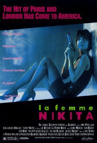 Poster Of (18+) La Femme Nikita 1990 720p Hindi Dubbed BRRip Dual Audio