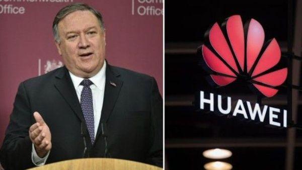 China rechaza las acusaciones de Pompeo contra Huawei