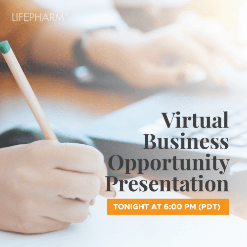 "Don't Forget to Join us Tonight! Weekly ""Virtual Business Opportunity Presentation"" 07.06.2020"