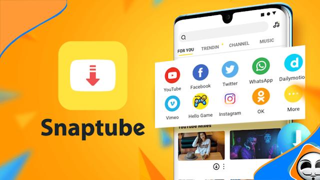 تطبيق Snaptube لتحميل الفيديوهات من أكثر من +50 موقع على هاتفك الأندرويد