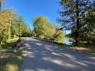 Paved roads in the Catoma Loop