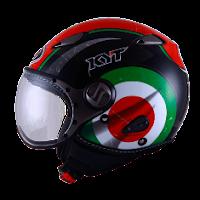 Helm KYT Elsico Seri 1 Black Green