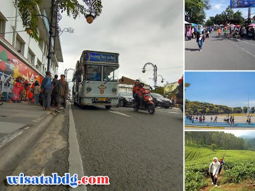 Wisata jalan kaki di Bandung