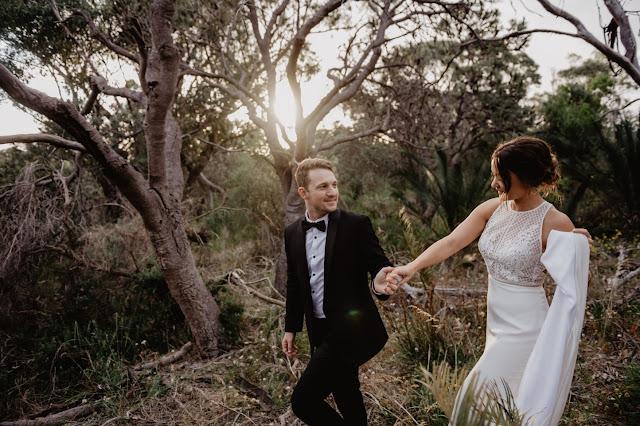 PERTH WEDDING QUARRY AMPHITHEATRE BRIDAL GOWN ZACH TAYLOR PHOTOGRAPHY
