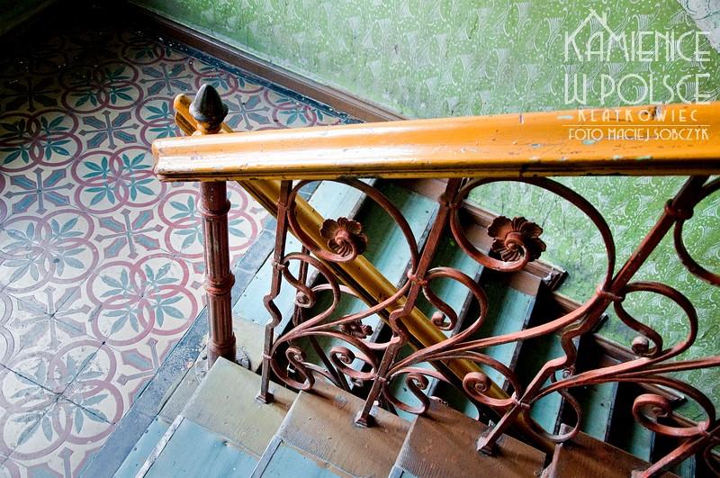 Bytom. Kamienica. Klatka schodowa. Architektura. Wnętrze. Balustrada.