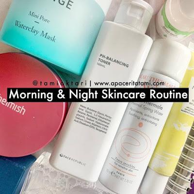 Rutinitas Skincareku Selama #DiRumahAja | Work From Home Edition