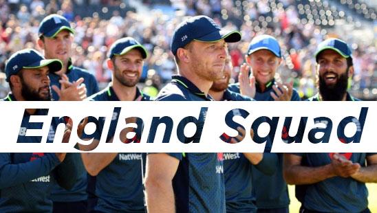 England Squad 2019