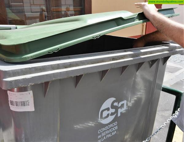 El Consorcio modifica el horario de recogida de residuos con motivo de la Semana Santa