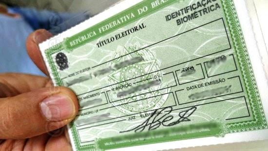 stf obrigatorio titulo eleitor maos votar